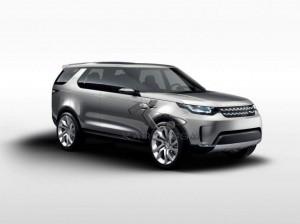 Land Rover Discovery Vision Concept : le tout-terrain du futur