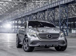 Mercedes-Benz Concept Coupé SUV : un X6 à l'Etoile