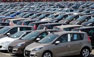 Recul de près de 23% des importations de véhicules
