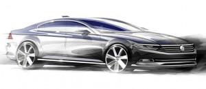 Nouvelle Passat, VW lève un coin du voile