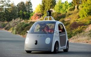 voiture sans pilote de google