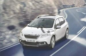 Peugeot 2008 ERG impose sa démarche aux crossovers