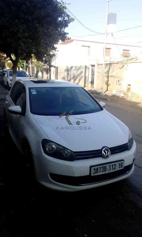 VOLKSWAGEN GOLF occasion 2012 Alger (16) Algerie 128000km 155mdz